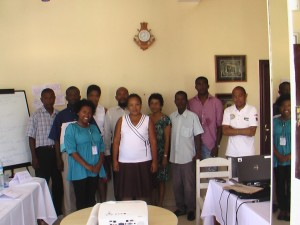 ALT Mg's training of radio journalists 2013