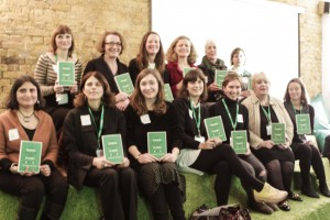 authors of Why women will save the planet gathered at FoE on 24th November 2015